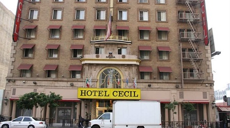 Cecil Hotel - facciata